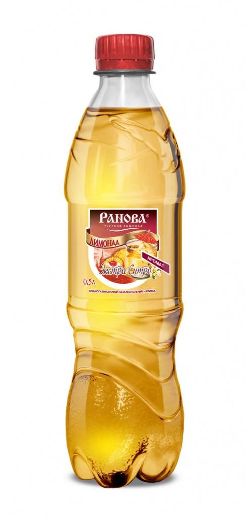 Лимонад Экстра-Ситро 0,5 л.