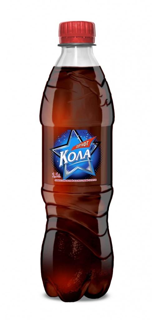 Газированный напиток Кола 0,5 л.